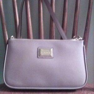 Calvin Klein Small  Lilac Saffiano Bag